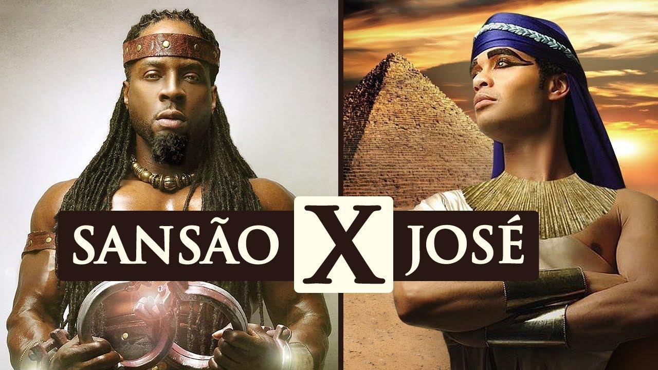 4 DIFERENÇAS ENTRE SANSÃO X JOSÉ DO EGITO