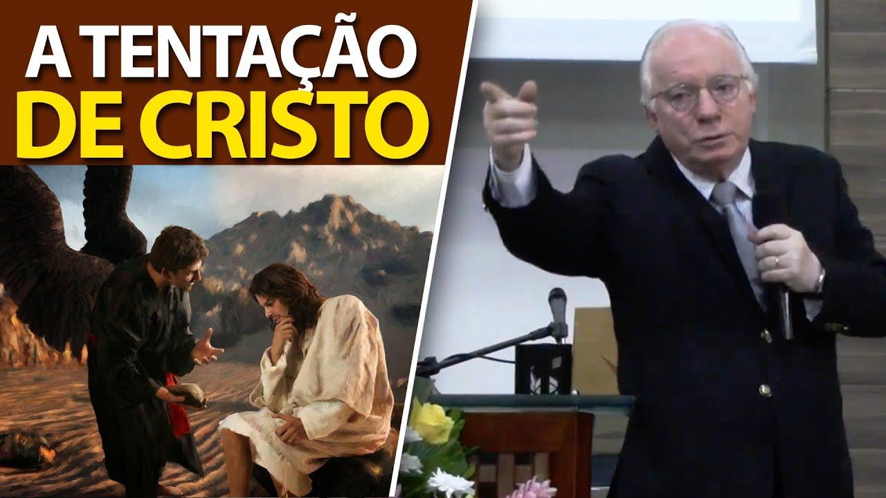 (Mateus 4) A Tentação de Cristo   Pregação de Paulo Seabra em 2021
