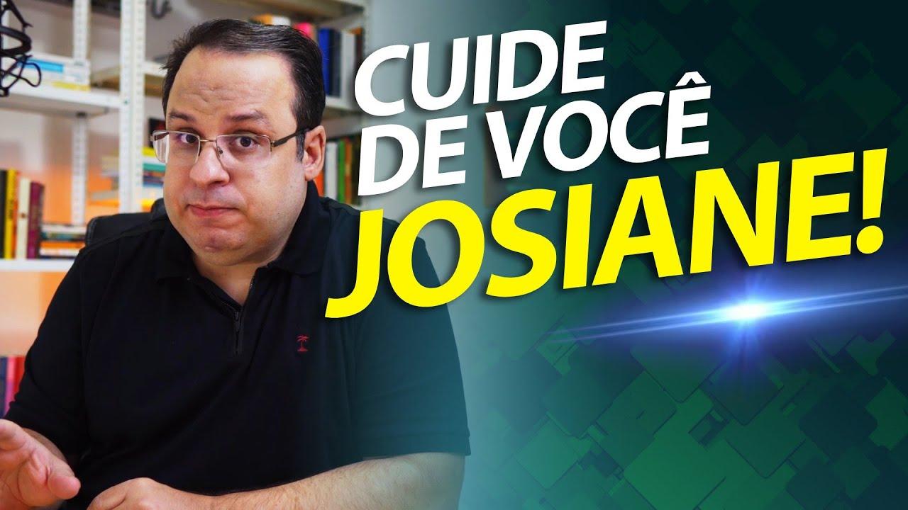 A história da Josiane! Uma pessoa sobrecarregada na vida.