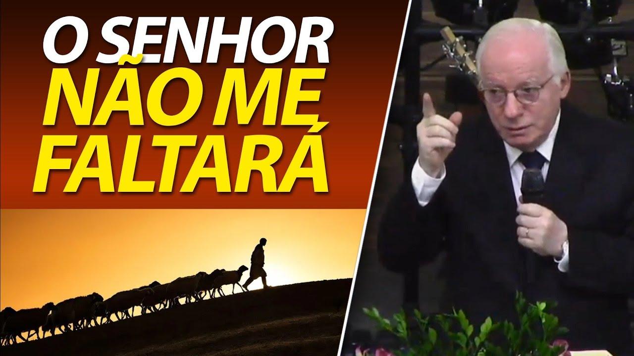 O Senhor nunca me faltará | Salmo 23 | Pastor Paulo Seabra